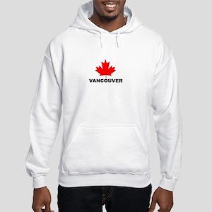 Vancouver, British Columbia Hooded Sweatshirt