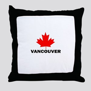 Vancouver, British Columbia Throw Pillow