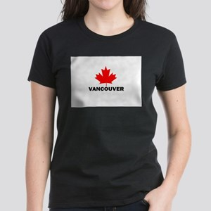 Vancouver, British Columbia Women's Dark T-Shirt