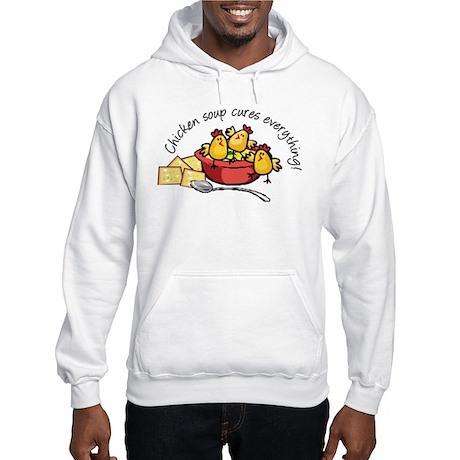 Chicken Soup Hooded Sweatshirt
