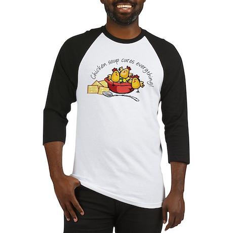 Chicken Soup Baseball Jersey