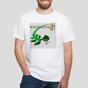 feedmeT White T-Shirt