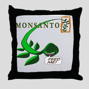 feedmeT Throw Pillow