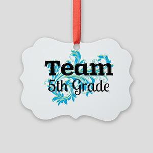 Team 5th Grade Picture Ornament