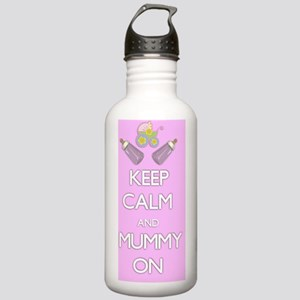 Keep Calm and Mummy On Stainless Water Bottle 1.0L