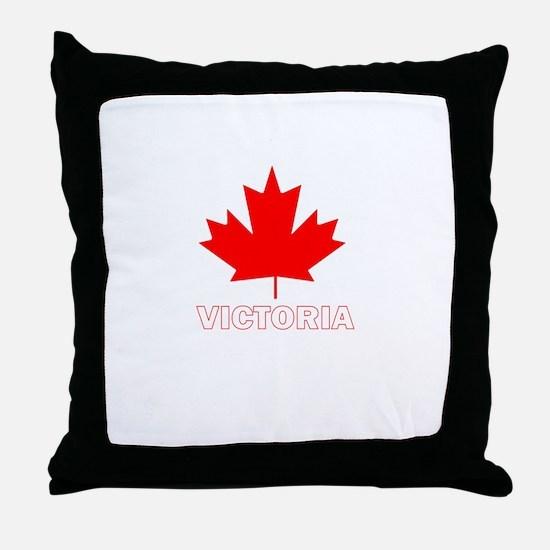 Victoria, British Columbia Throw Pillow