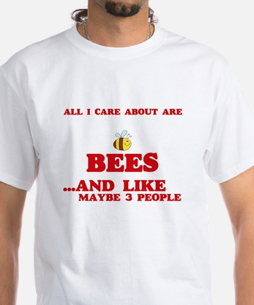 All I care about are Bees T-Shirt