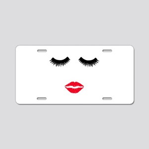 Make up artist. Beautician. Aluminum License Plate