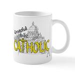 Grateful to be Catholic (Gold) Mug