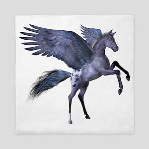 Flying Pony 1 Queen Duvet