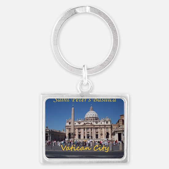 VaticanCity_10X8_puzzle_StPeter Landscape Keychain