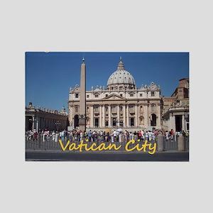 VaticanCity_10X8_puzzle_StPetersB Rectangle Magnet