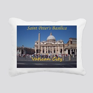 VaticanCity_10X8_puzzle_ Rectangular Canvas Pillow