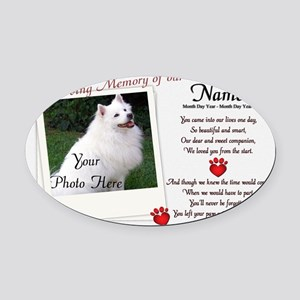 In Loving Memory of Our Oval Car Magnet