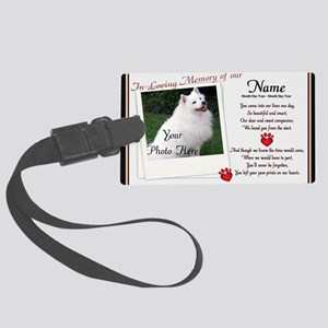In Loving Memory of Our Large Luggage Tag
