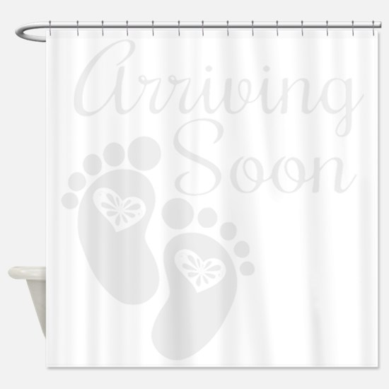 Arriving Soon. Shower Curtain