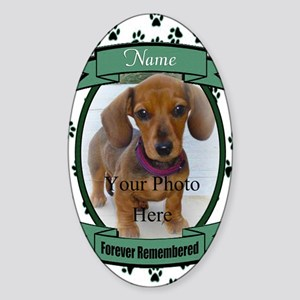 Forever Remembered Sticker (Oval)