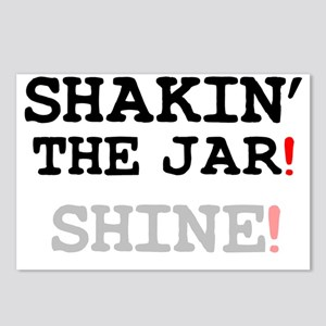SHAKIN THE JAR - SHINE! Postcards (Package of 8)