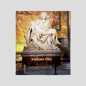 VaticanCity_9X13.6_StPetersBasilica_ Throw Blanket