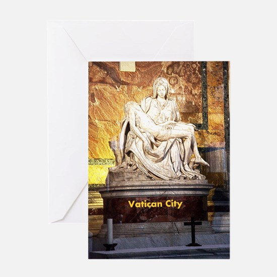 VaticanCity_9X13.6_StPetersBasilica_ Greeting Card