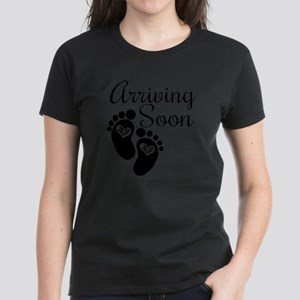 Arriving Soon Women's Dark T-Shirt