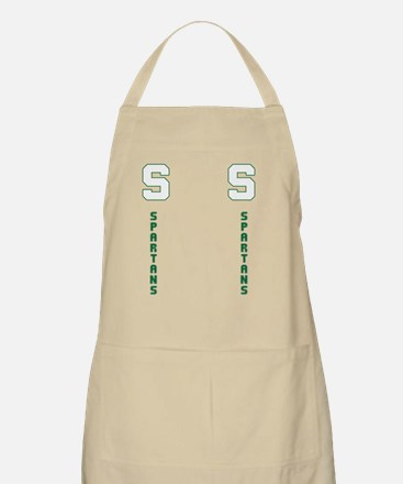 Michigan Spartans State, College Flip Flops  Apron