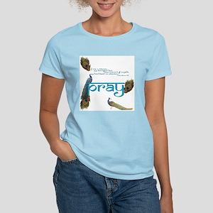 Women's Peacock Prayer T-Shirt