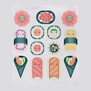 Sushi Throw Blanket