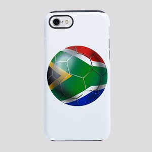 South Africa Soccer Ball iPhone 7 Tough Case