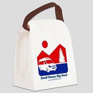Small House Big Yard RV clothing Canvas Lunch Bag