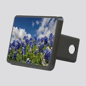 Texas Bluebonnets - 4217 Rectangular Hitch Cover