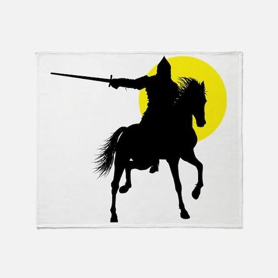 Eastern Knight Throw Blanket
