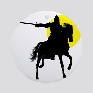 Eastern Knight Round Ornament