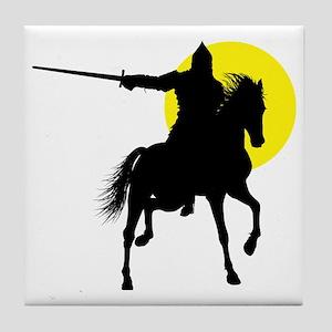 Eastern Knight Tile Coaster