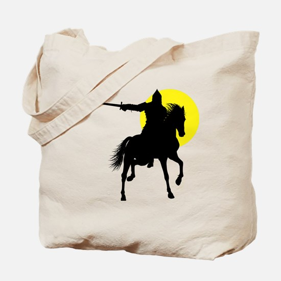 Eastern Knight Tote Bag