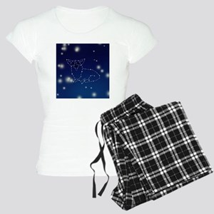 Corgi Constellation Women's Light Pajamas