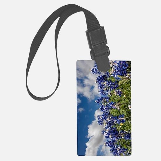 Texas Bluebonnets - 4217v Luggage Tag