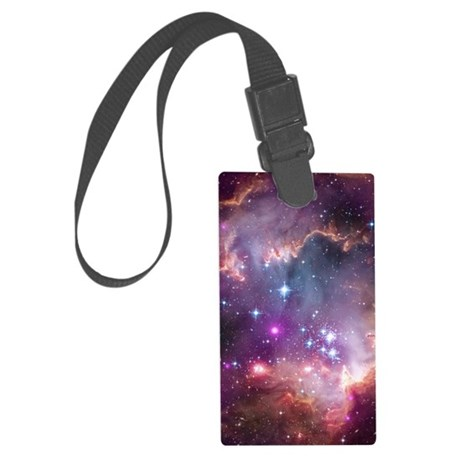twin_duvet Large Luggage Tag