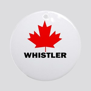 Whistler, British Columbia Ornament (Round)