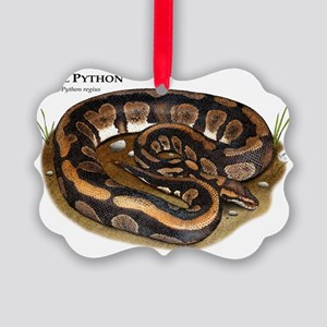 Ball or Royal Python Picture Ornament