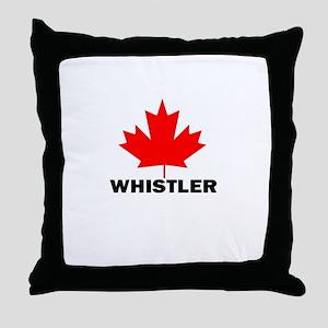 Whistler, British Columbia Throw Pillow