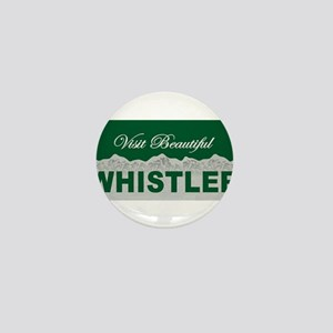 Visit Beautiful Whistler, Bri Mini Button
