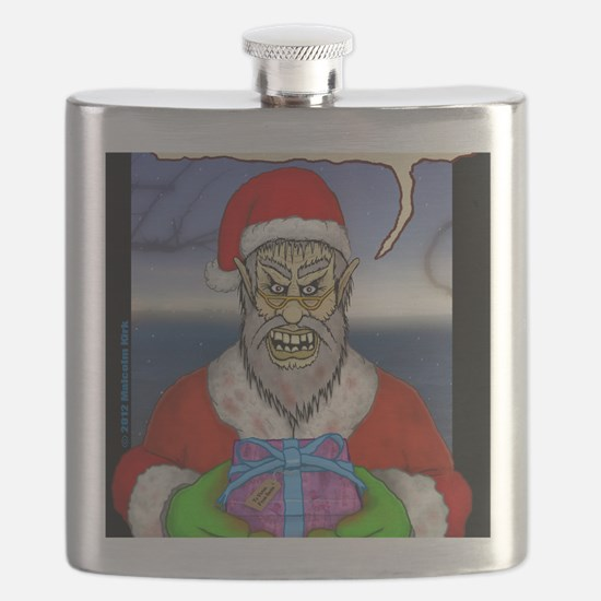 Evil Santa (I Know) Flask