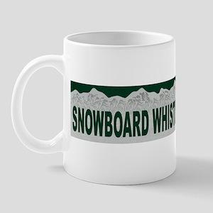 Snowboard Whistler, British C Mug
