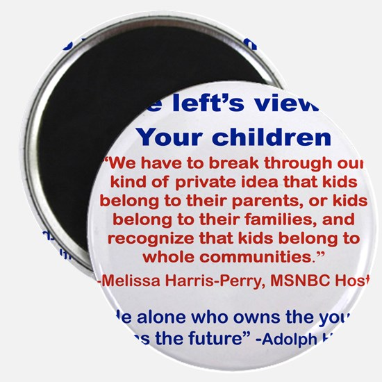 THE LEFTS VIEW OF YOUR CHILDREN Magnet