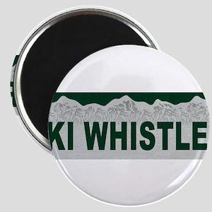 Ski Whistler, British Columbi Magnet