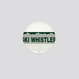 Ski Whistler, British Columbi Mini Button