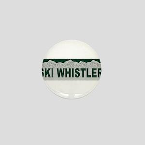 Ski Whistler, British Columbi Mini Button