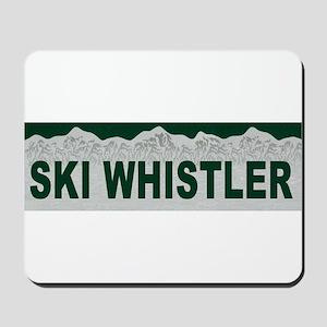 Ski Whistler, British Columbi Mousepad