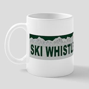 Ski Whistler, British Columbi Mug